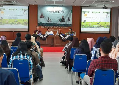 Appealing Youth to Sustainable Peatland Utilization