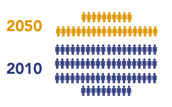 population with year